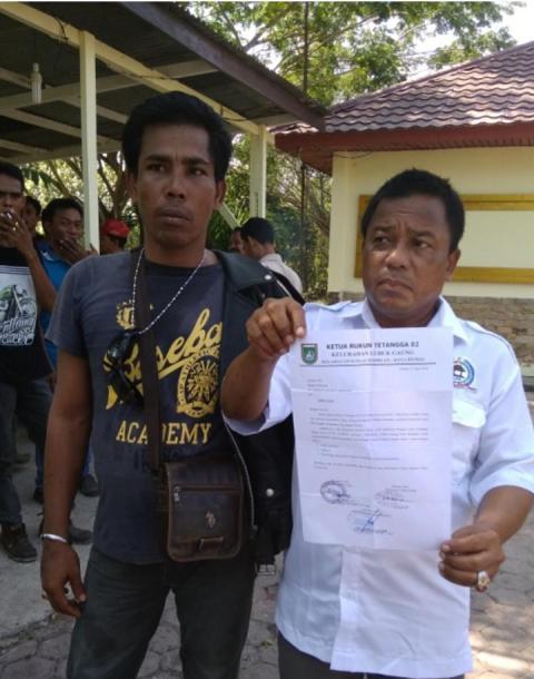 Photo of Bentrok Serikat Pekerja Sungai Sembilan VS Ormas Pemuda Pancasila,Terkait Perebutan Masalah Lahan Kerja
