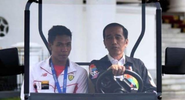 Photo of Presiden Jokowi : Keliru, Orang Besarnya itu Zohri