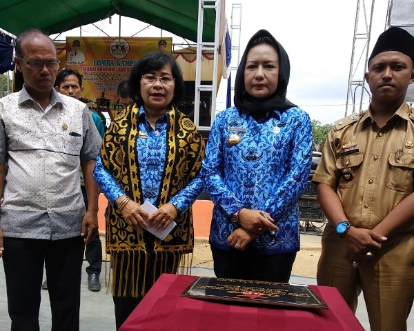 Photo of Kunjungan Tim Evaluasi Lomba Kampung Dan Tim Penilaian Lomba Badan Usaha Milik Desa