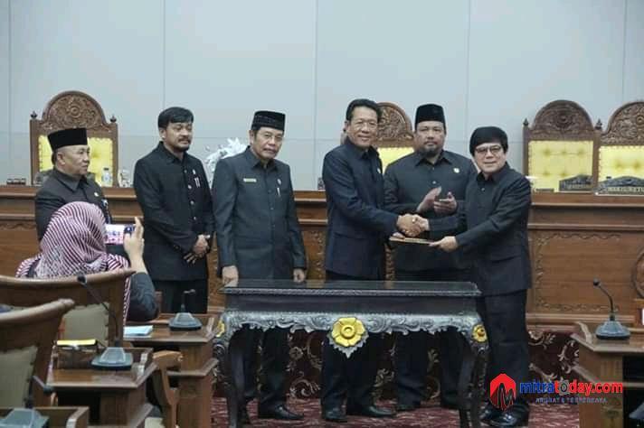Photo of Rapat Paripurna Pemilihan Cawagub Dan Penetapan Calon Wagub Terpilih
