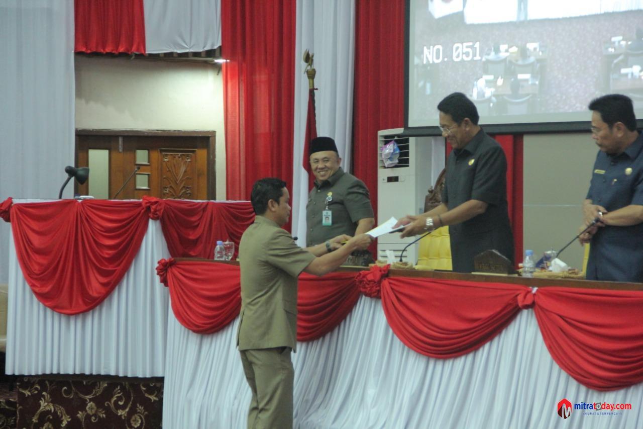 Photo of Raperda APBDP Tahun 2019 Provinsi Bengkulu Disetujui Banggar
