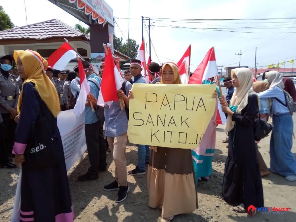 Photo of Kecam Isu Sara Terhadap Papua, Generasi Aswaja Provinsi Bengkulu Gelar Aksi Damai