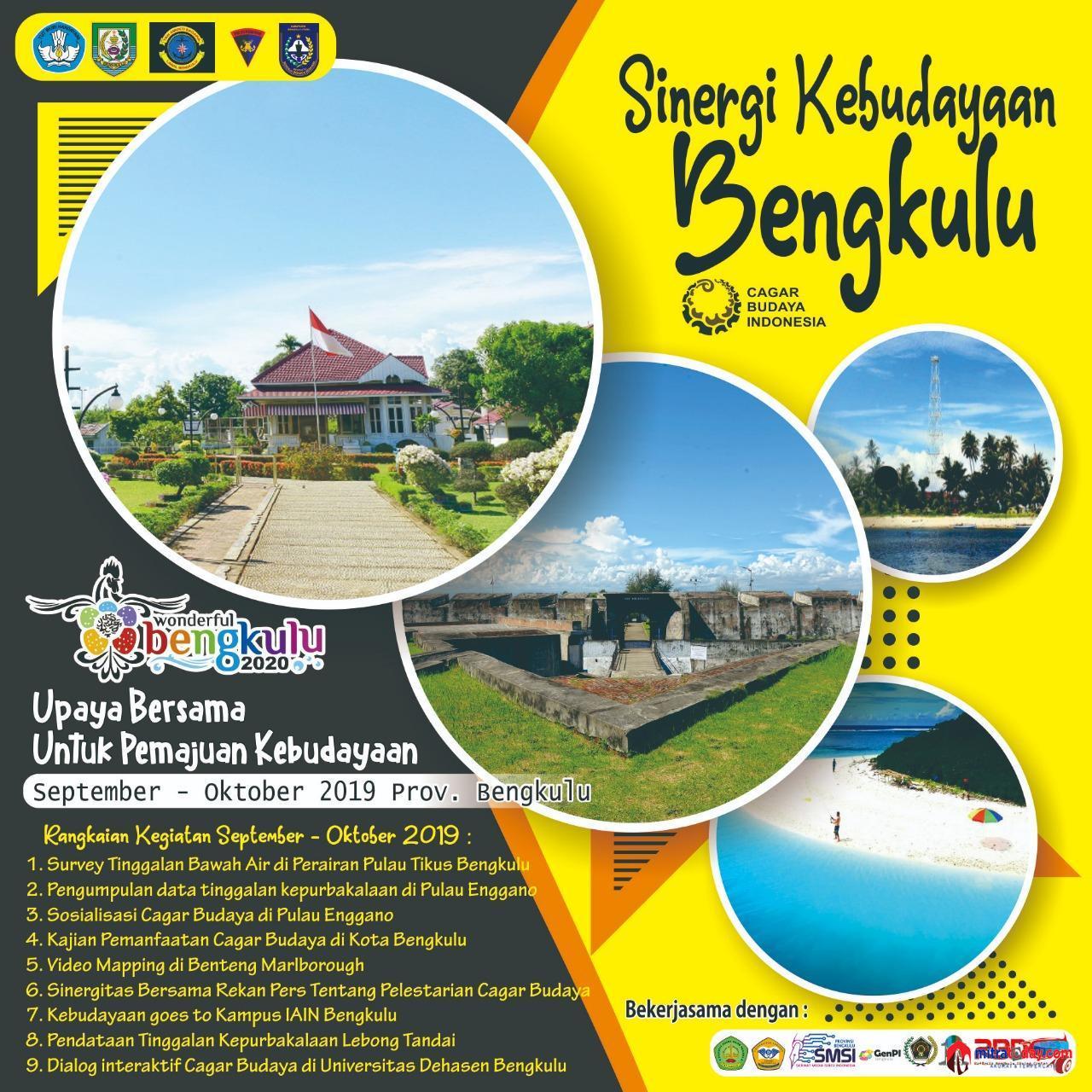 Photo of Perkuat Kerjasama Pelestarian Cagar Budaya, BPCB Gelar Sinergi Kebudayaan Bengkulu