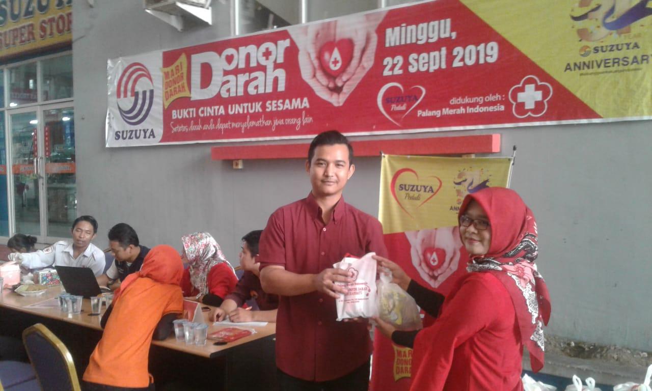Photo of Peduli Sesama, Suzuya Bagan Batu Gelar Kegiatan Donor Darah