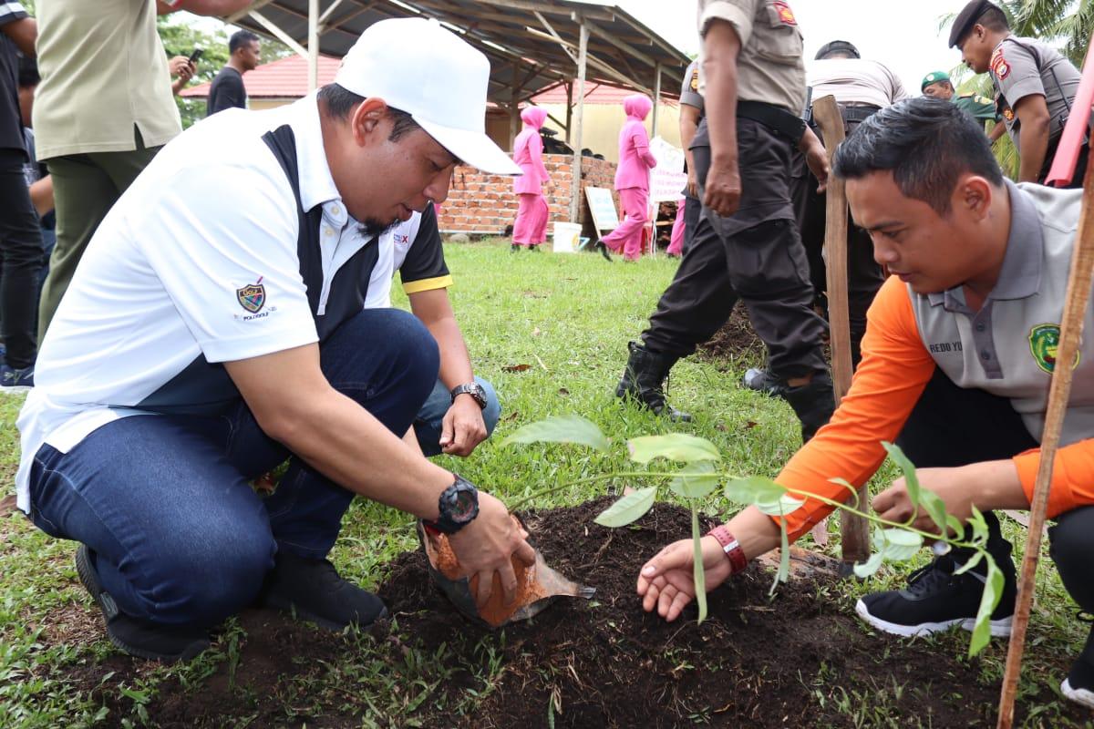 Photo of Sinergitas Wawali Dan Kapolres, Ciptakan Kota Bengkulu Bersih, Indah, dan Aman