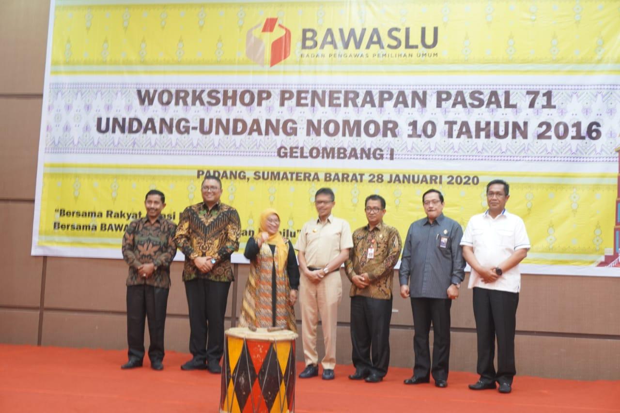 Photo of Antisipasi Pelanggaran, Bawaslu RI Gelar Workshop Penerapan Pasal 71 UU Nomor 10 Tahun 2016