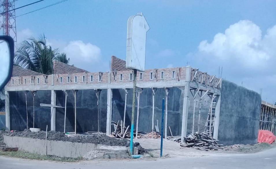 Photo of Bangunan Diduga Tanpa IMB Berjalan Lancar.