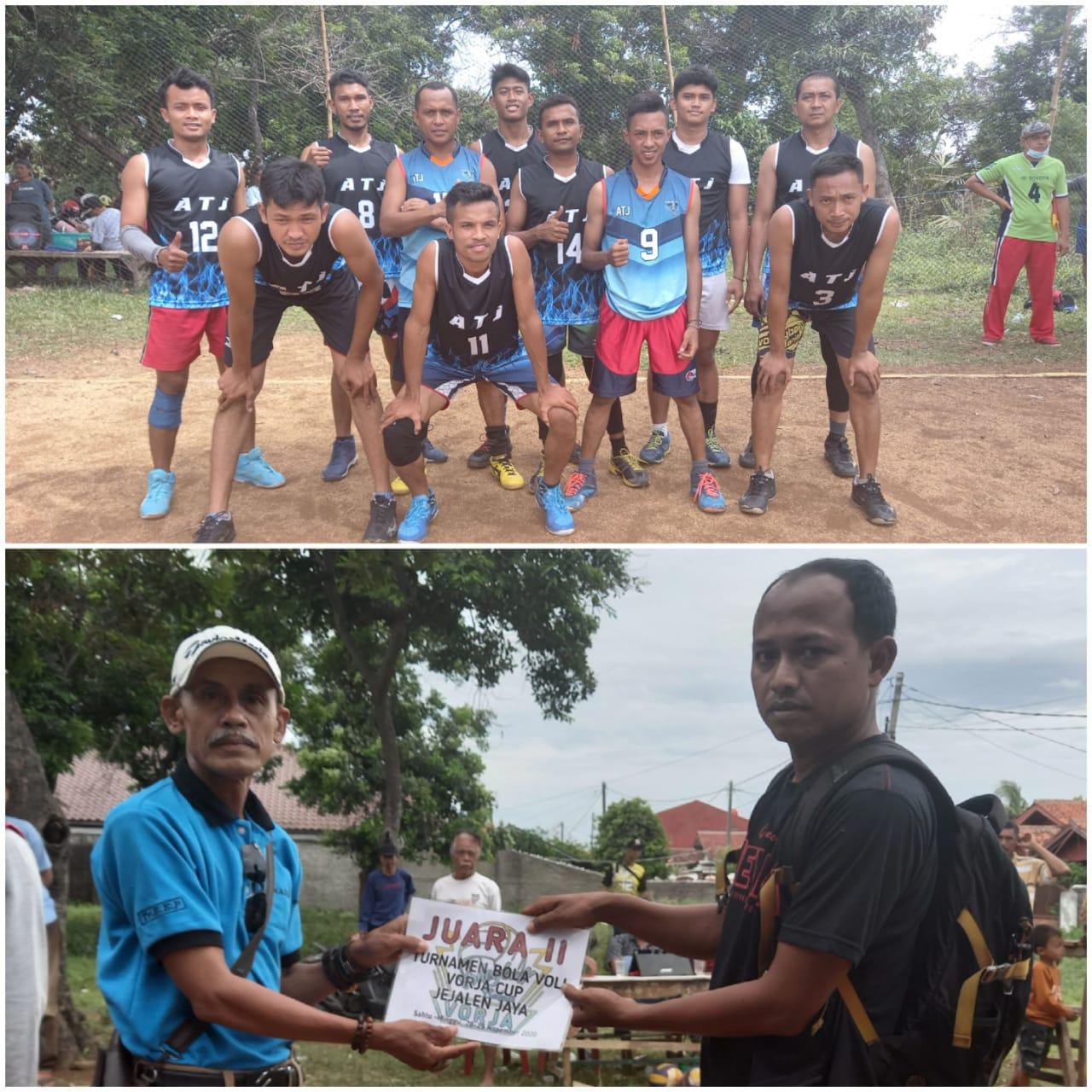 Photo of Perebutan Piala Vorja Cup 2020, Team ATJ Juara 2,Yoel M Siki: Terima Kasih Tuhan
