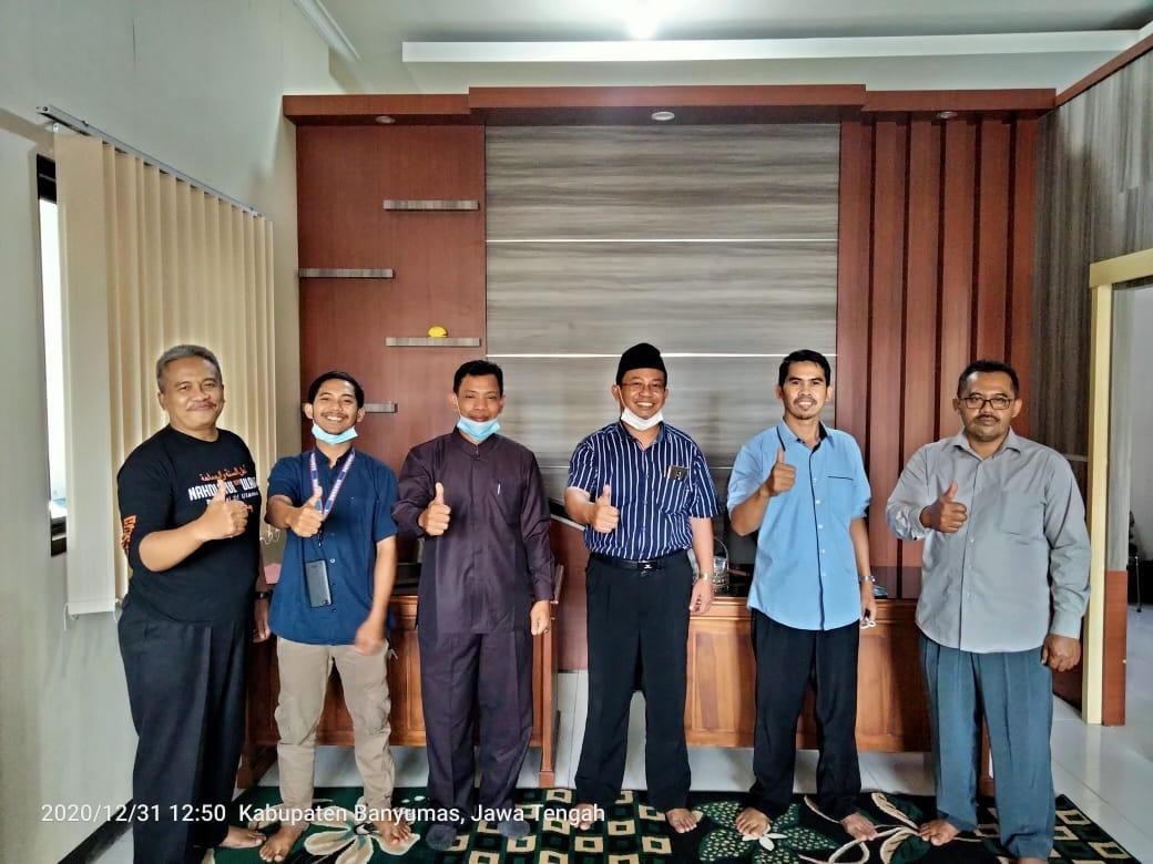 Photo of Ketua PCNU BU Silaturahmi Kepada PC LP Ma'arif Kabupaten Banyumas