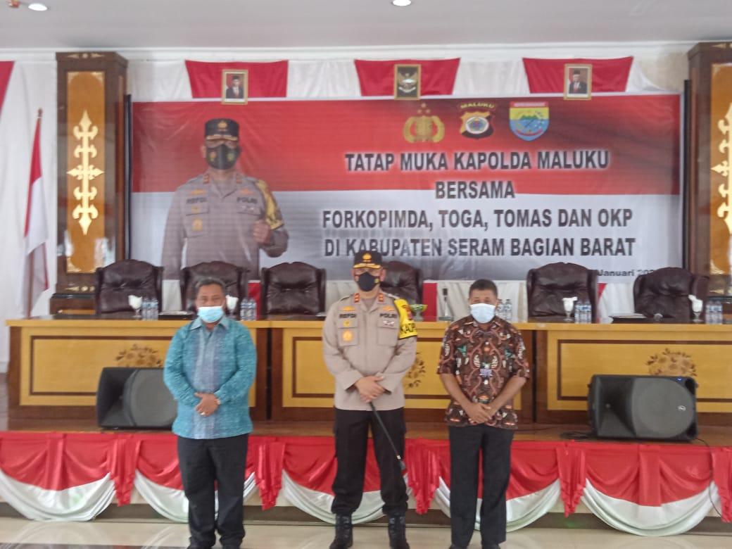 Photo of Kunker Kapolda Maluku Di SBB Tingkatkan Sinegritas