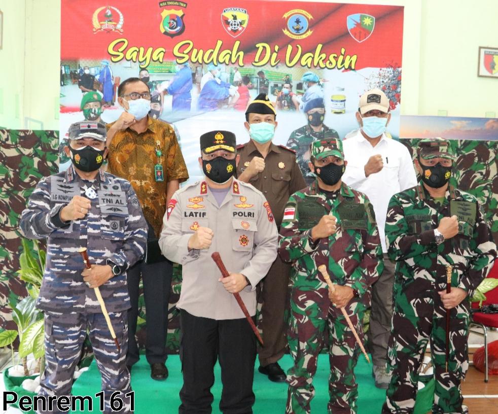 Photo of Serbuan Vaksinasi TNI Polri Dalam Rangka Penanganan Covid-19