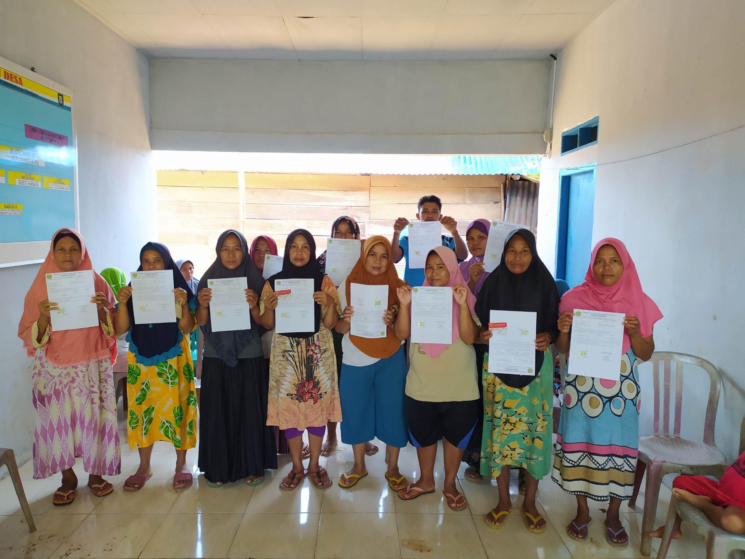 KPM Graduasi Mandiri, Desa Datar Penokot