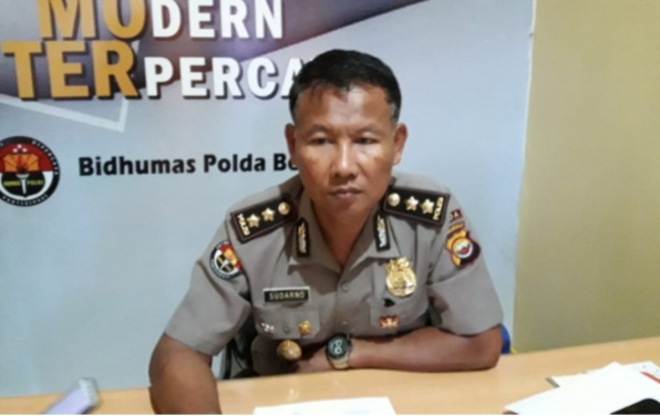 Kabid Humas Polda Bengkulu, Kombes Pol Sudarno