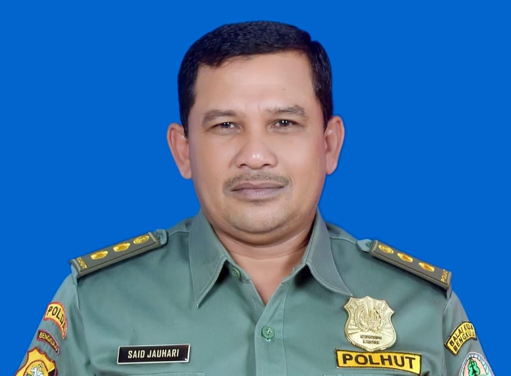 Kepala Seksi Wilayah I Curup, BKSDA Bengkulu, Said Jauhari