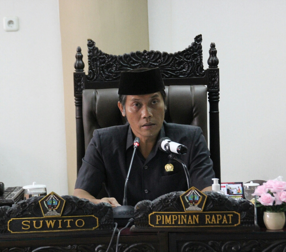 Ketua DPRD Kabupaten Blitar, Suwito Saren Satoto