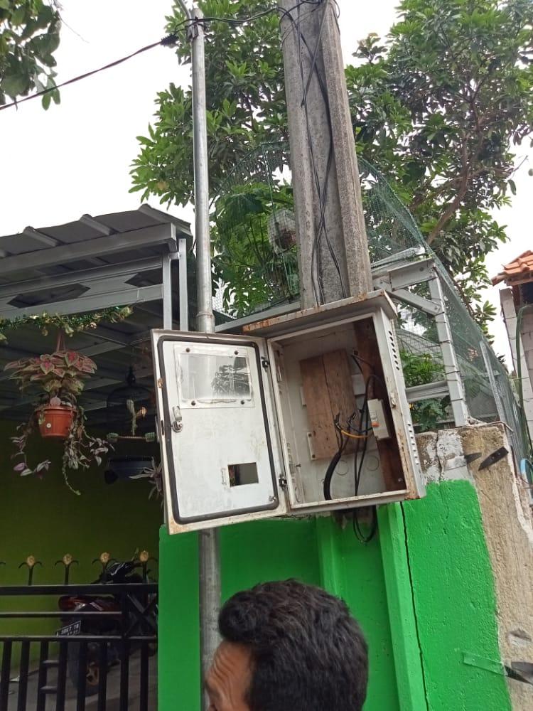 Photo of KWH Listrik Sarana Air Bersih Desa Buaran Mangga di Duga Kwh Listrik Terbang