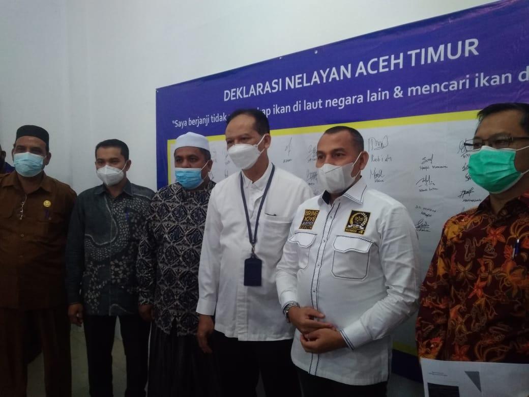 Photo of Tidak Menangkap Ikan Di Wilayah Laut Negara lain, Nelayan Aceh Timur Di Minta Ikut Intruksi