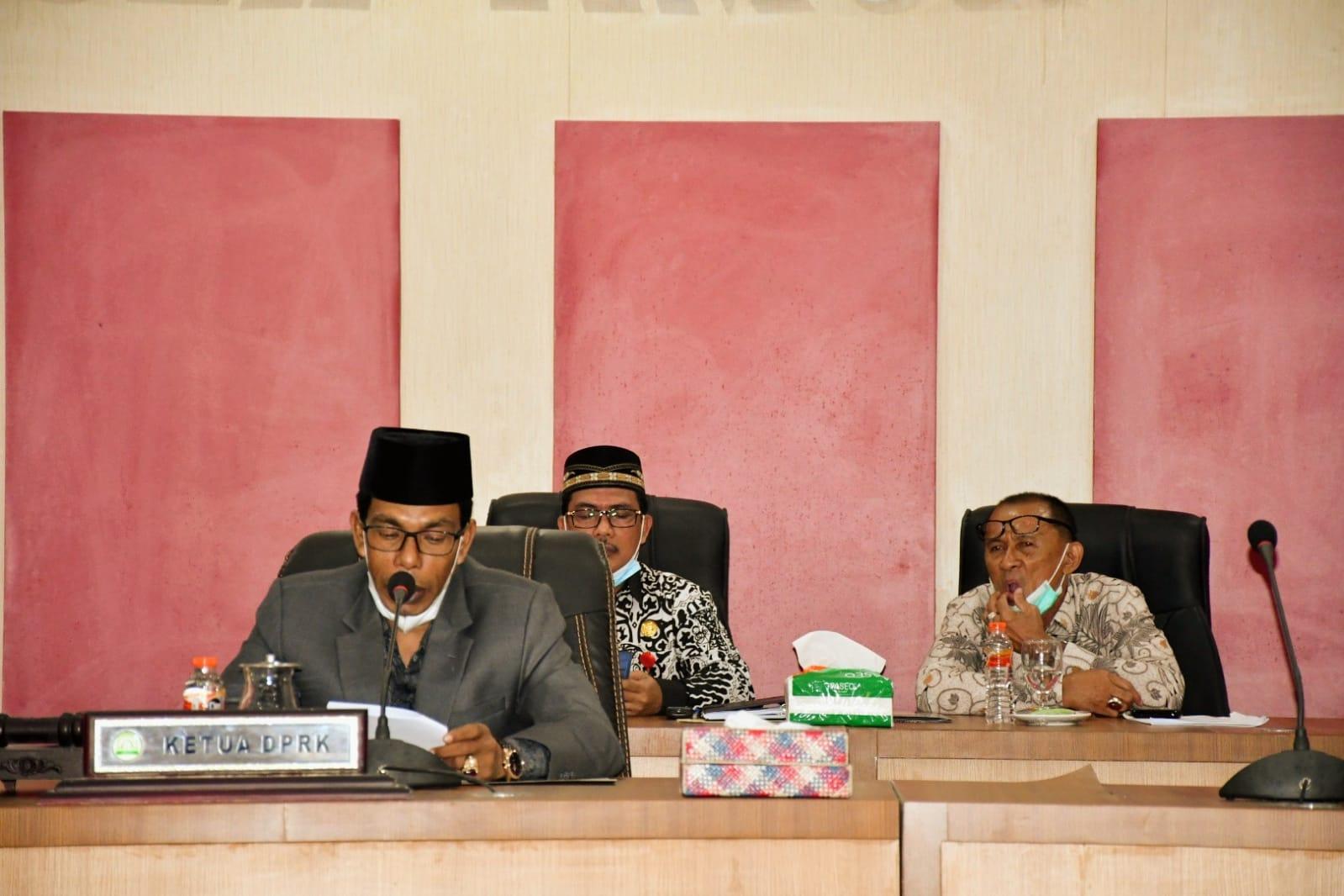 Photo of Bupati Aceh Timur Ucap Terimakasih Kepada DPRK, Terhadap Rekomendasi LKPJ 2020