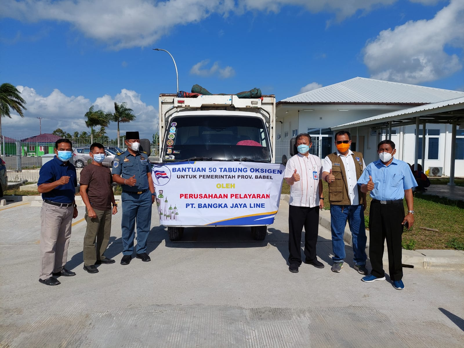 Photo of Peran Misi Kemanusiaan, PT BJL Beri Bantuan Oksigen ke Pemprov Babel