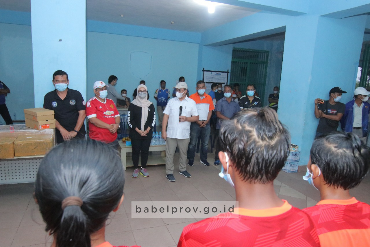 Photo of Gubernur : Latihan, Latihan, Latihan dan Menang.