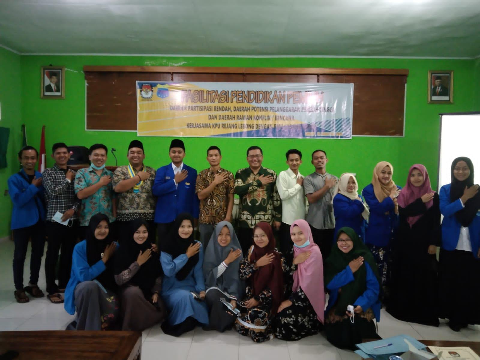 Photo of KPU Rejang Lebong Gandeng PMII Curup, Gelar Fasilitasi Pendidikan Pemilih