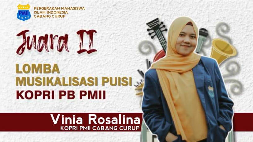 Photo of Kopri PC PMII Curup Raih Juara 2 Musikalisasi Puisi Tingkat Nasional