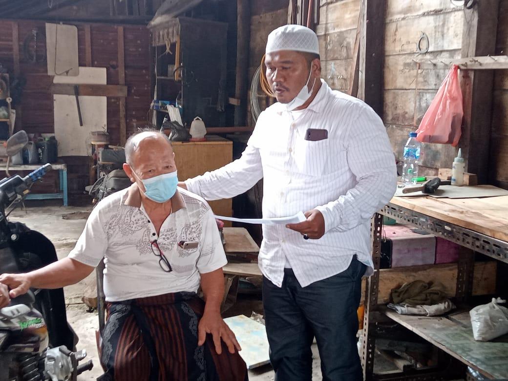 Photo of Baru Sehari Dilantik, Ketua Baitul Mal Aceh Timur Kunjungi Mualaf