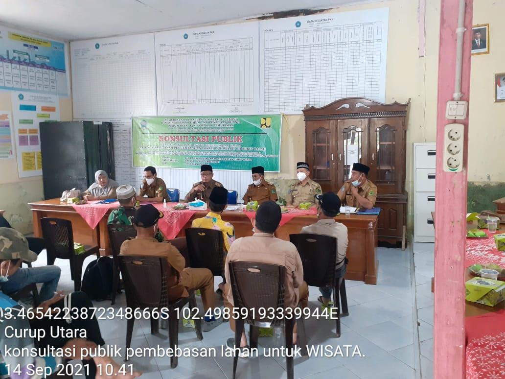 Photo of Kembangkan Destinasi Wisata, DPUPR Rejang Lebong Laksanakan Kegiatan Konsultasi Publik Di Dusun Sawah