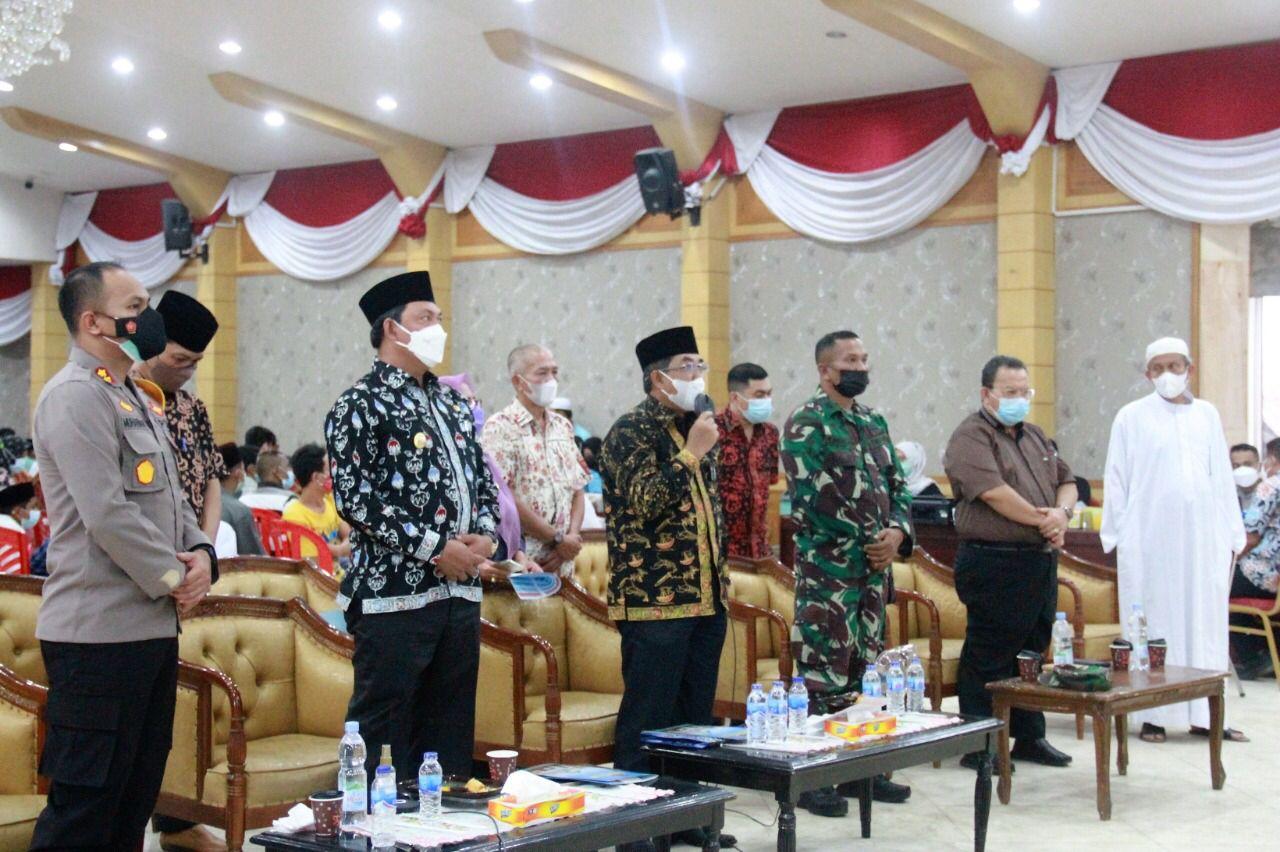 Photo of Bupati Tanjabbar Ikuti Kegiatan Kunjungan Kerja Panglima TNI Secara Virtual