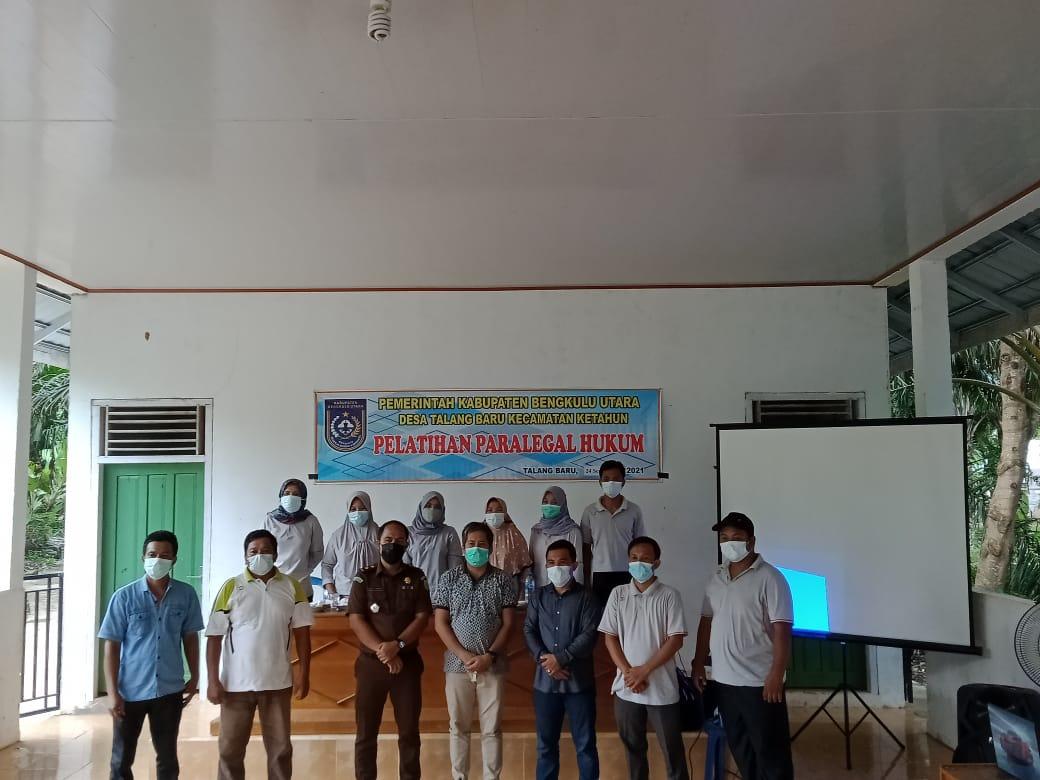 Photo of 2 Desa Di BU Ikuti Pelatihan Dan Sosilisasi Paralegal Hukum