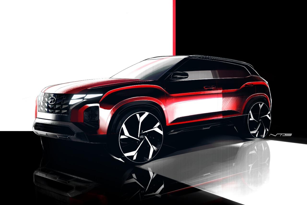 Photo of Sketsa Desain Hyundai CRETA, SUV Pertama Buatan Indonesia yang Tampil Berani, Dinamis, dan Futuristik