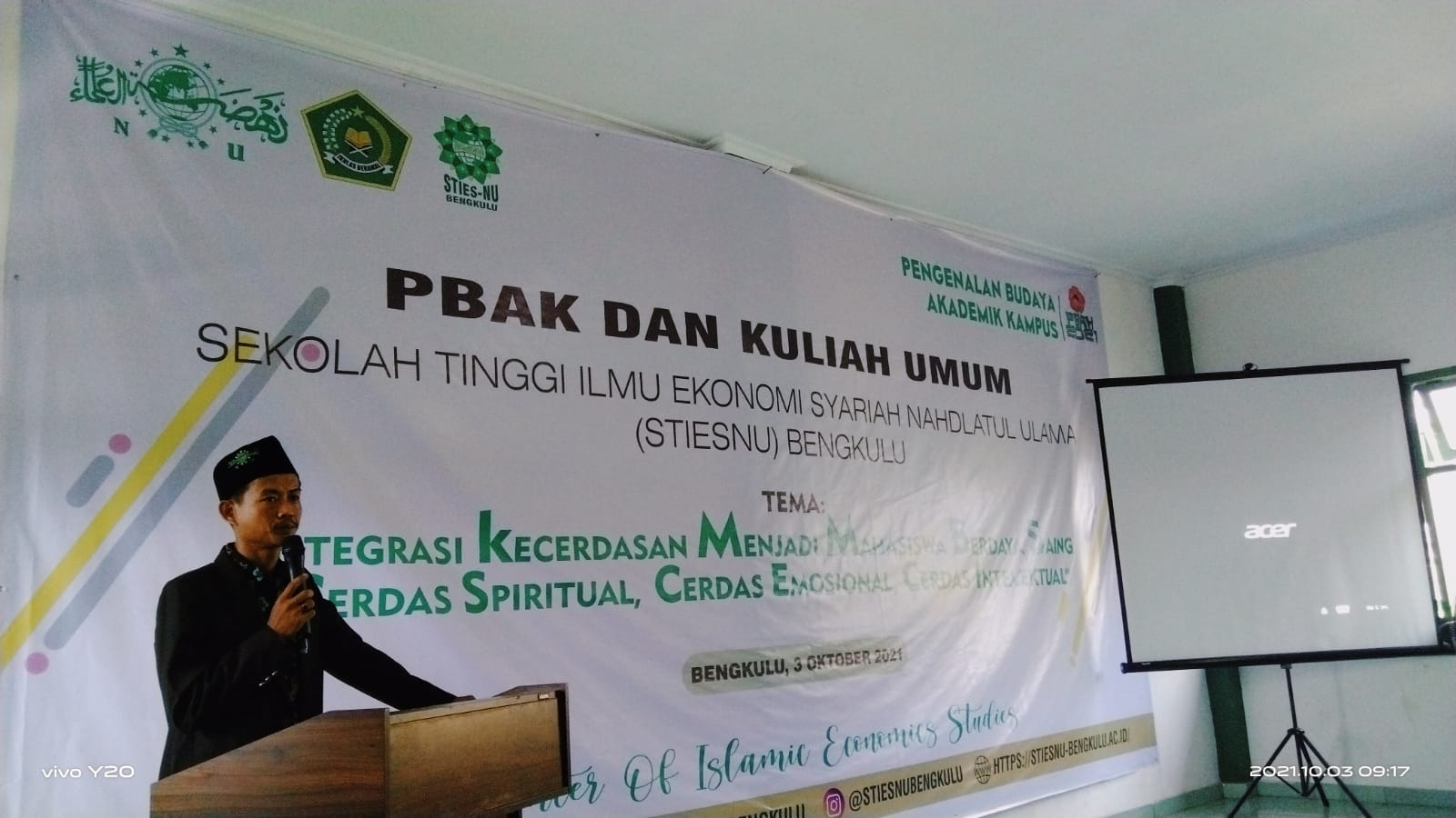 Photo of STIESNU Bengkulu Laksanakan PBAK Dan Kuliah Umum