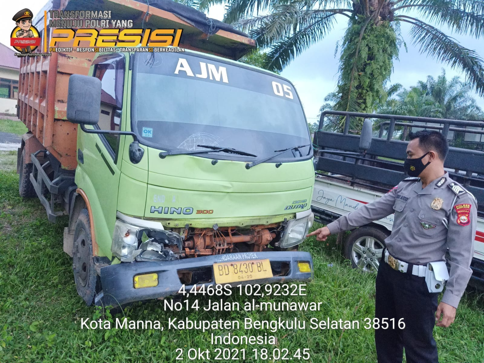 Photo of Tabrak Truk,Pengendara Motor Meninggal