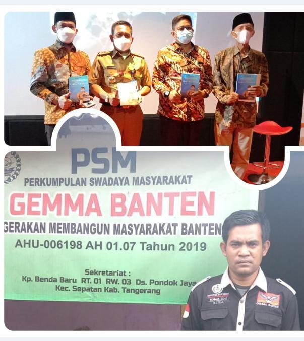 Photo of Ketua LSM GEMMA Banten, Apresiasi Camat Sepatan Buat Buku