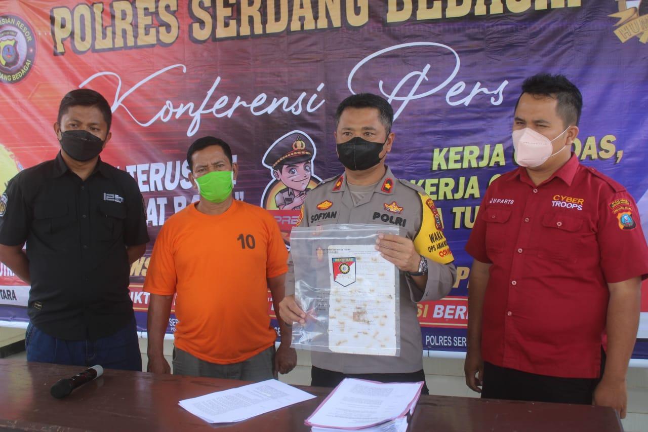 Photo of Nekad Palsukan Surat Tanah 4 Hektar Pria Disergai Ditangkap Polisi