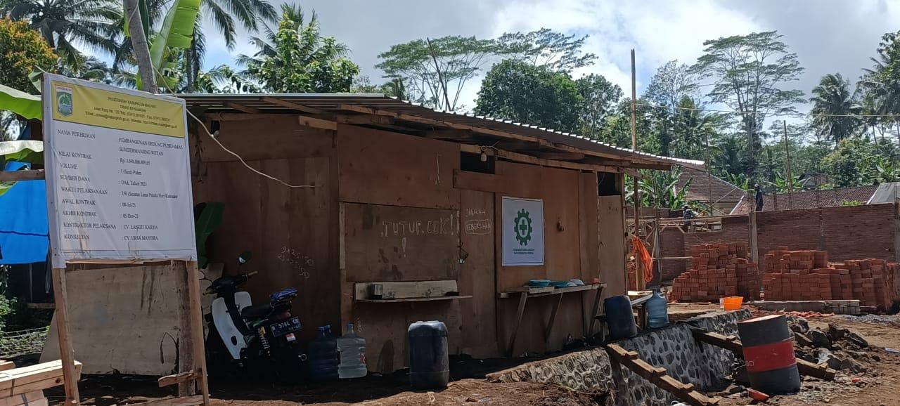 Pembangunan Puskesmas Sumbermanjing Wetan