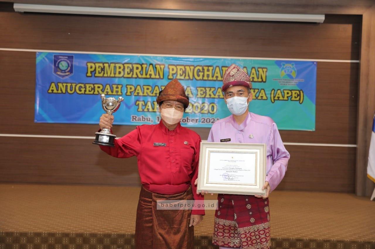 Photo of Pemprov Babel Terima Penghargaan Anugerah Parahita Ekapraya 2020
