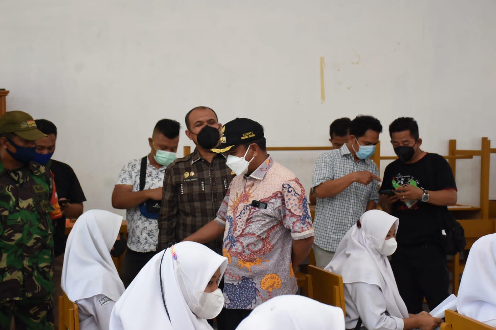 Photo of Pemkab Sergai Dan BINDA Sumut Jalin Sinergitas Laksanakan Vaksinasi Pelajar