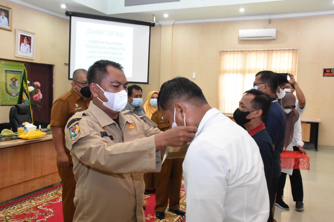 Photo of Sergai Gelar Pelatihan Teknis Bidang Kesehatan Hewan