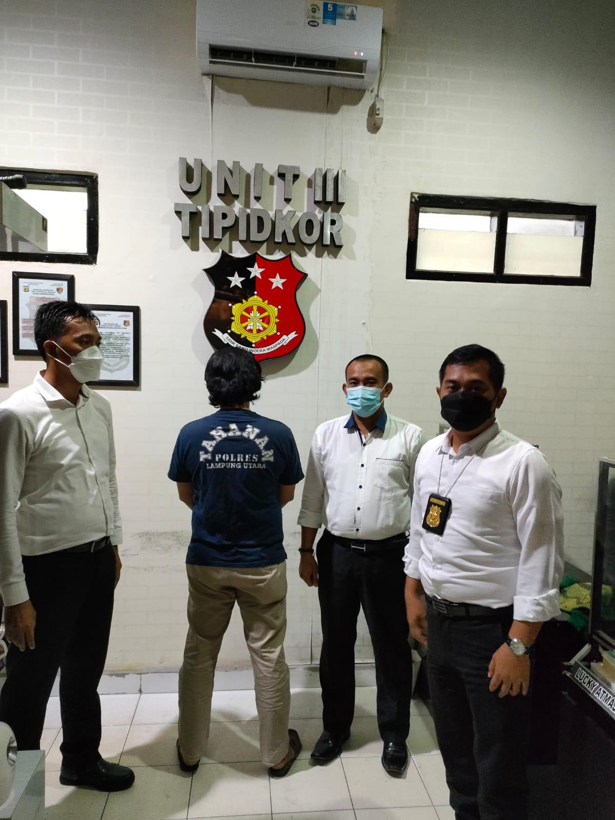 Photo of Sat Reskrim Polres Lampung Utara kembali menetapkan dan menahan Kepala Desa terkait kasus Korupsi