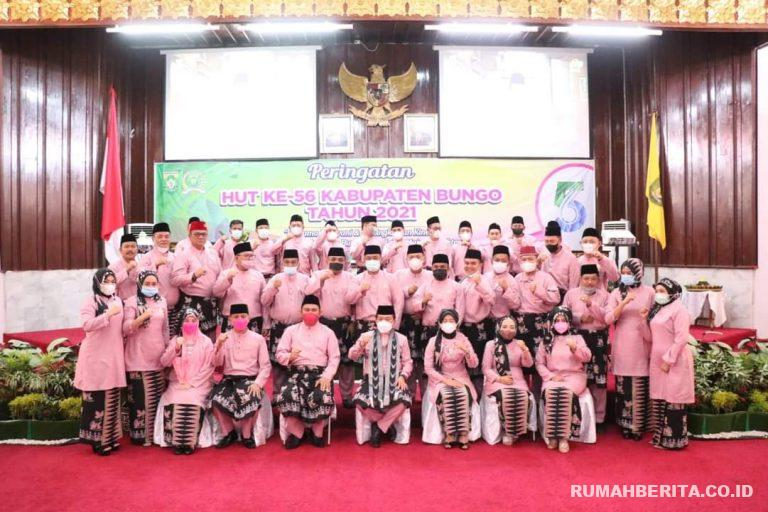 Photo of Sekda Tanjabbar Menghadiri HUT Ke-56 Kabupaten Bungo Provinsi Jambi