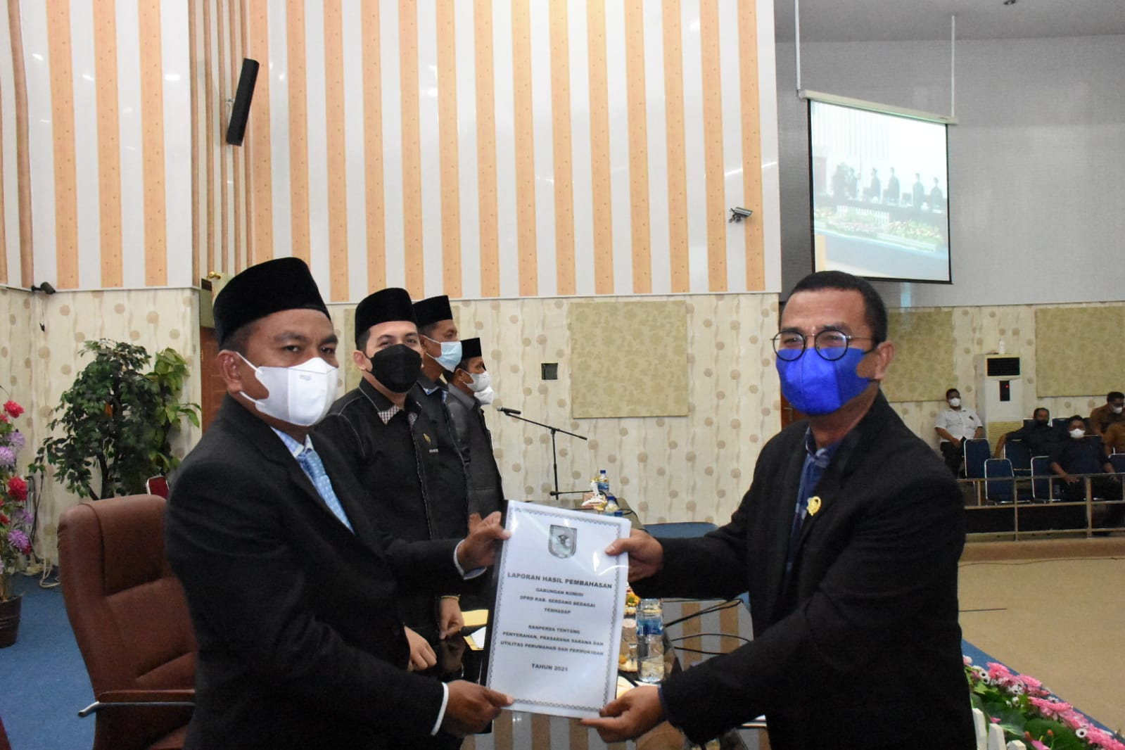 Photo of Ranperda KUA-PPAS dan Infrastruktur Perumahan Permukiman Kabupaten Sergai Disetujui DPRD
