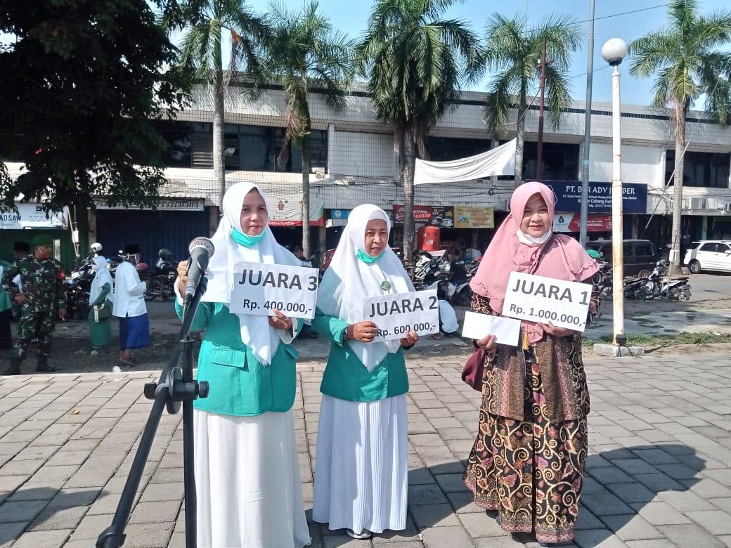 Photo of Pererat Jam'iyah, Panitia HSN Adakan Lomba Kerajinan Muslimat Se-Kecamatan Rambipuji