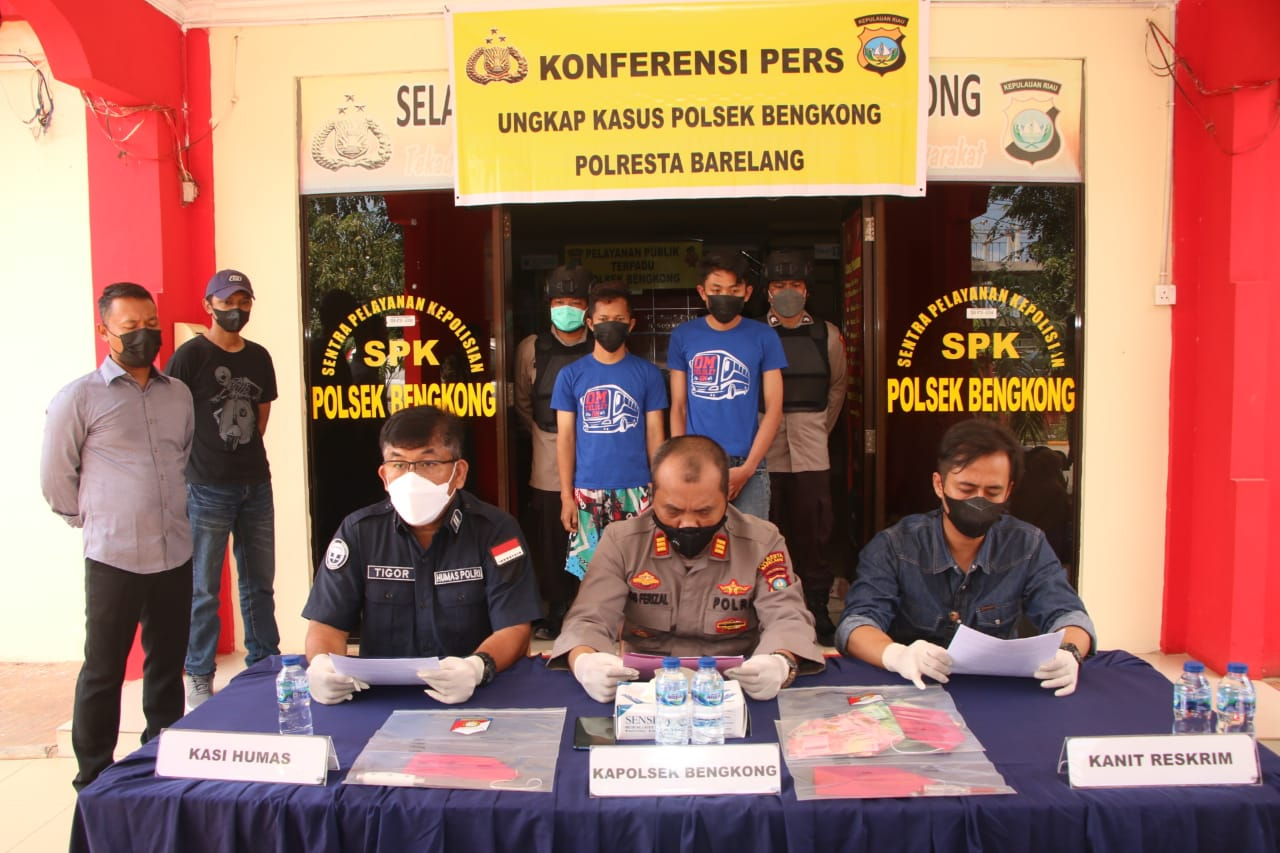 Photo of Dalam Waktu 2 Jam, Polsek Bengkong Berhasil Ringkus Pelaku Pembobol Brankas