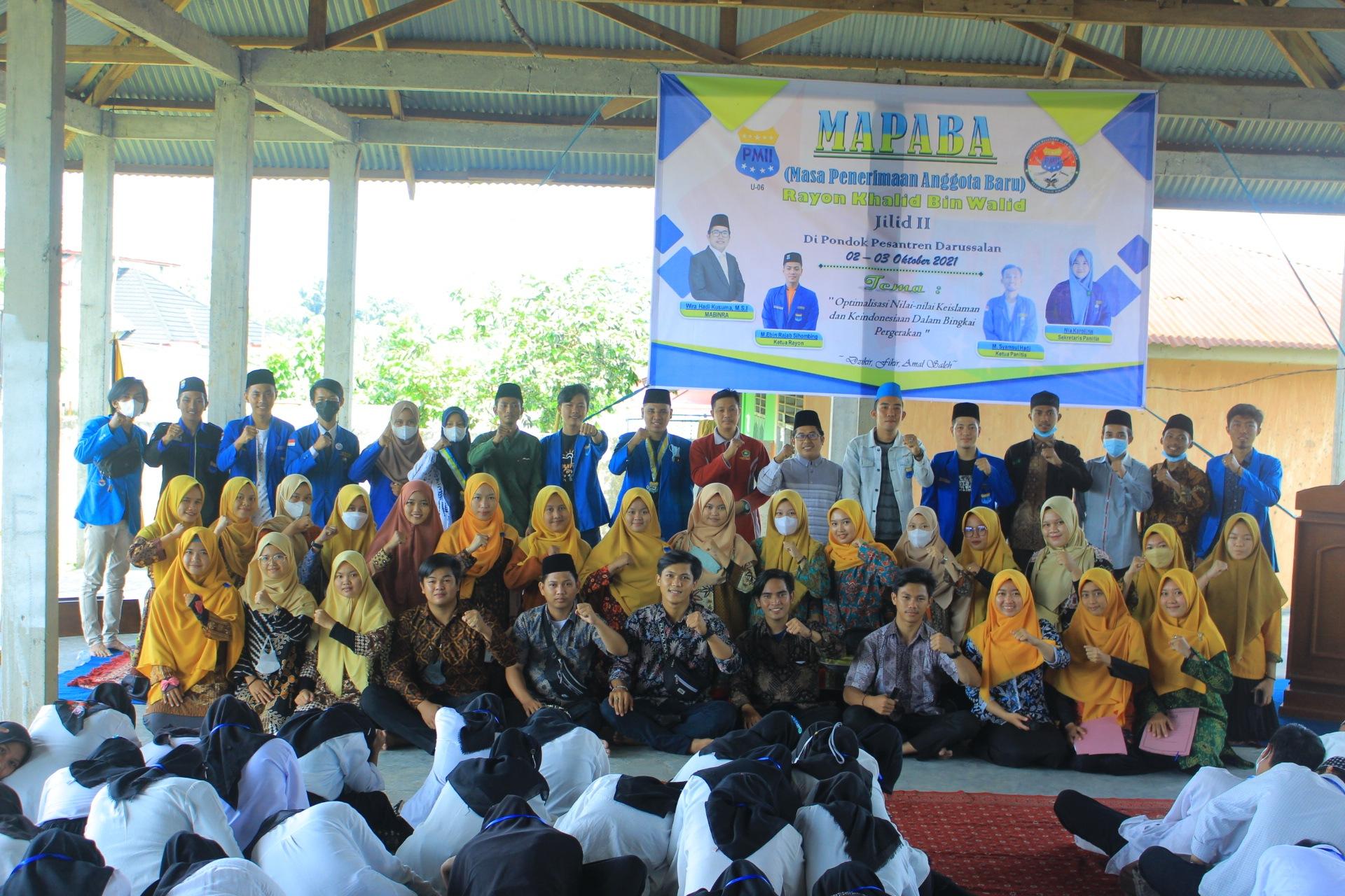 Photo of Siapkan Intelektual Pergerkan, PMII Rayon Khalid Bin Walid Adakan Mapaba